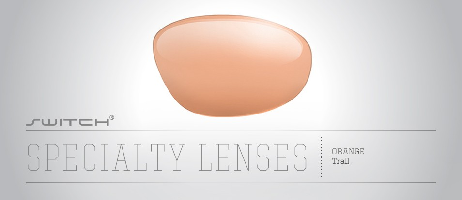Trail Lens (Amber Orange)