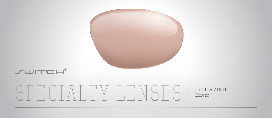 Driver Lens (Rose Amber with Bronze Gradient)