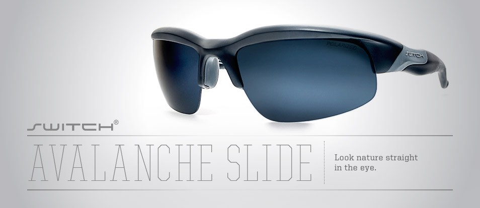 Avalanche Slide - Switch between different sun lenses including prescriptions lenses with the magnetic interchange system from Liberty Sport.