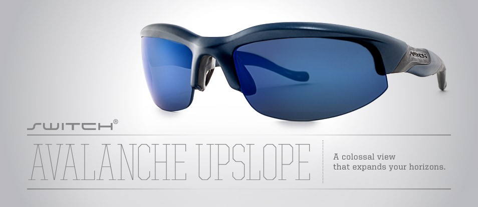 Avalanche Upslope - Switch between different sun lenses including prescriptions lenses with the magnetic interchange system from Liberty Sport.