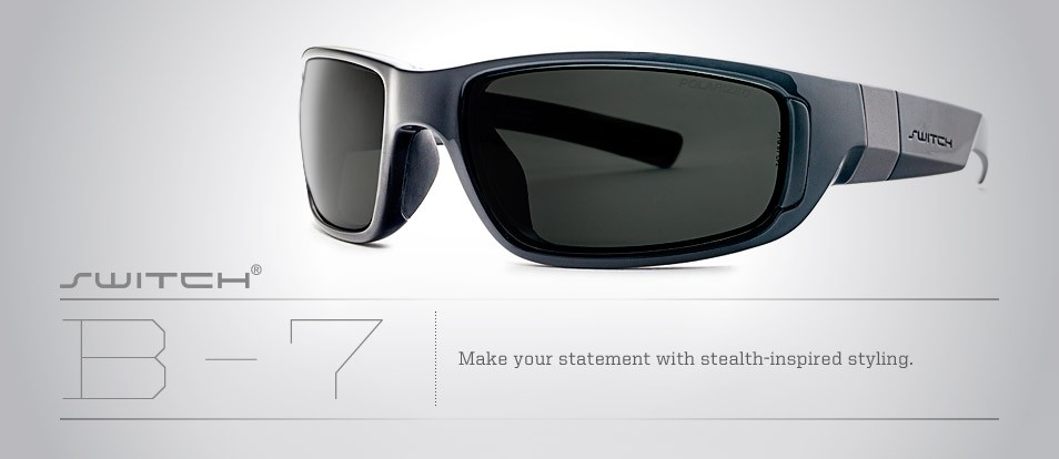 B-7 - Liberty Sport - Switch Interchange sport sunglasses with swappable lenses for various light conditions.