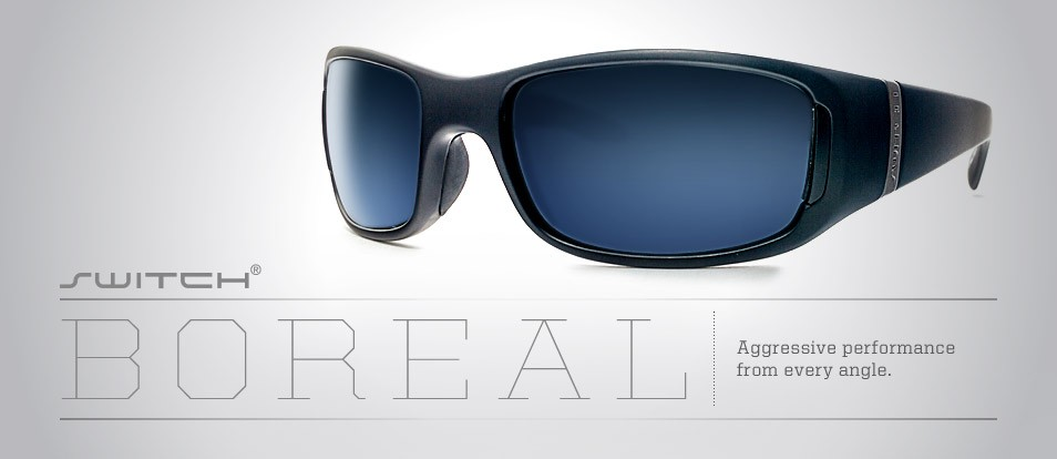 Boreal - Liberty Sport - Sport sunglasses with switchable magnetic lenses to adapt to various lighting or prescription needs.