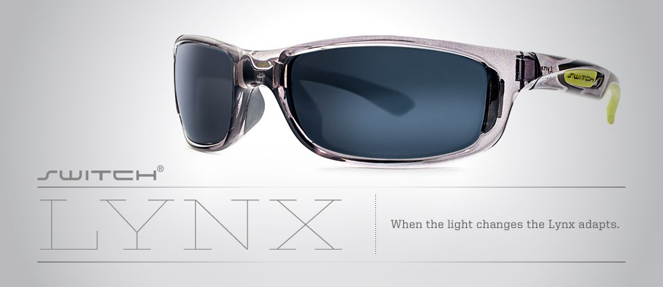 Lynx - Liberty Sport performance sunglasses with magnetic interchangeable lenses to help adapt to your surroundings by choosing the lenses best suited to current light conditions.