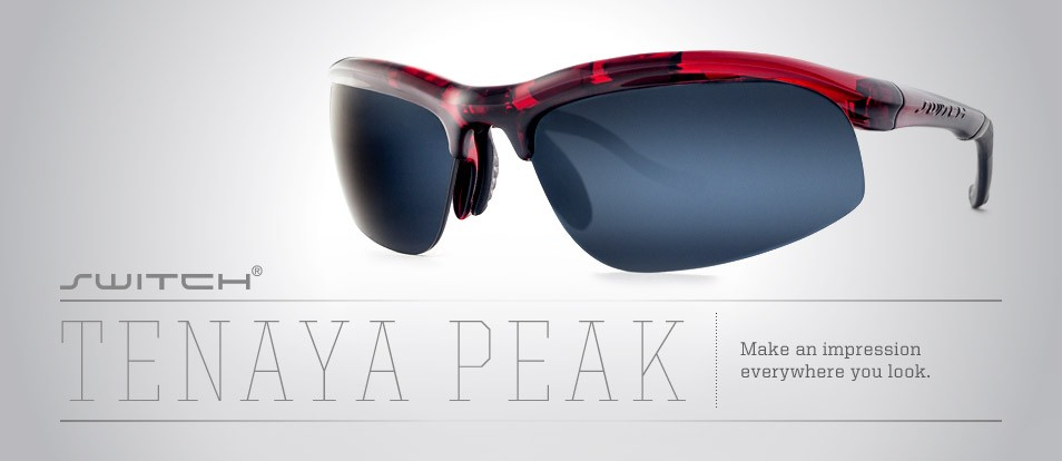 Tenaya Peak - Secure and comfortable fit performance sport sunglasses with an interchangeable magnetic lens system to adapt to various light conditions or prescription needs.