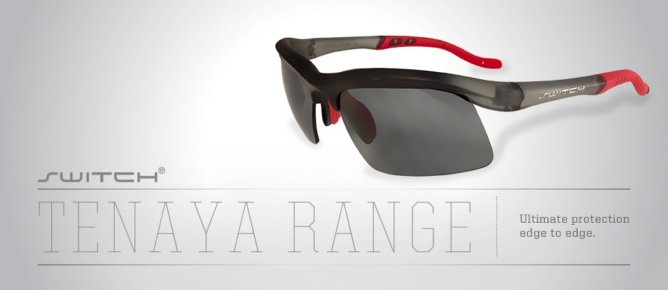 Tenaya Range - Secure and comfortable fit performance sport sunglasses with an interchangeable magnetic lens system to adapt to various light conditions or prescription needs.
